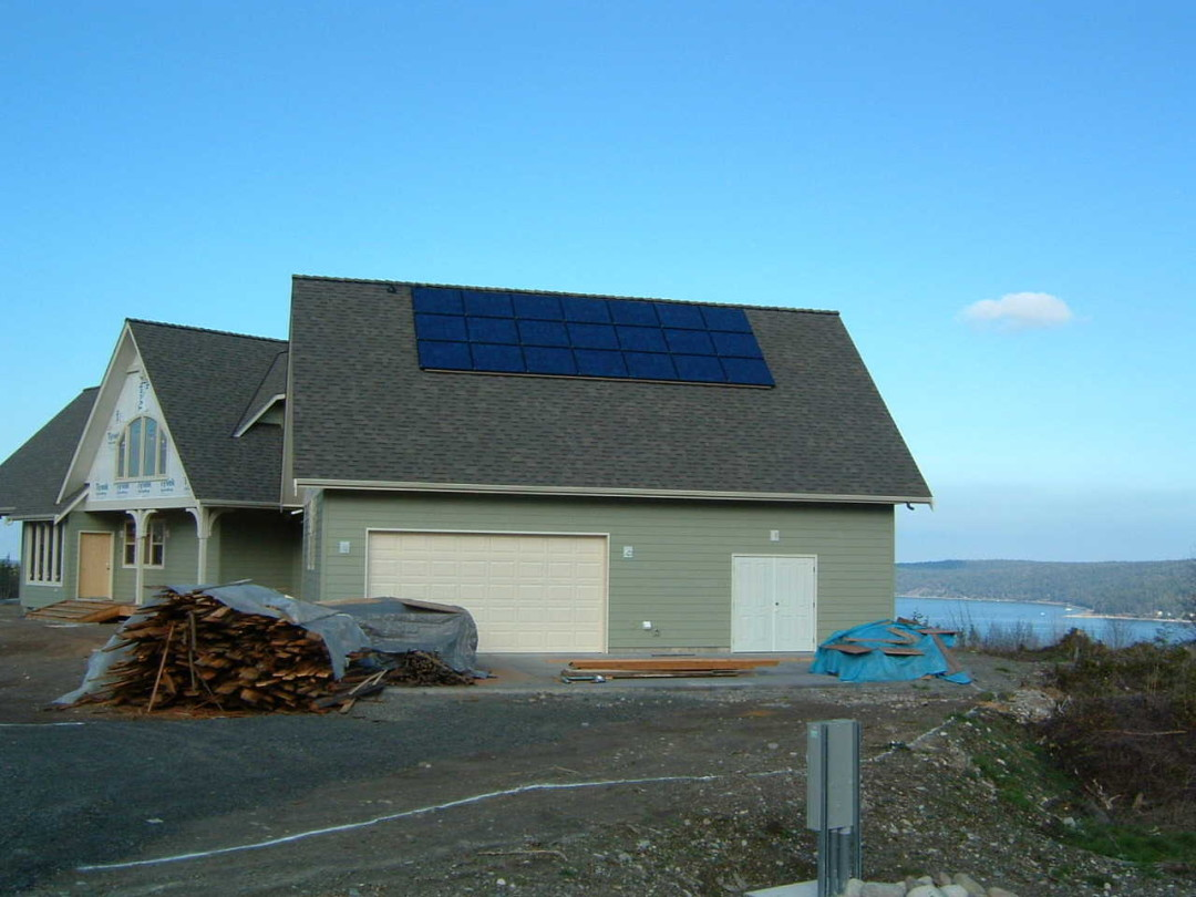 Meyers Residence, 3 KW, Sequim, 2004