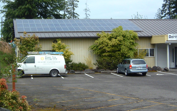 Metzler Office, 6.6 KW, Port Angeles, 2005