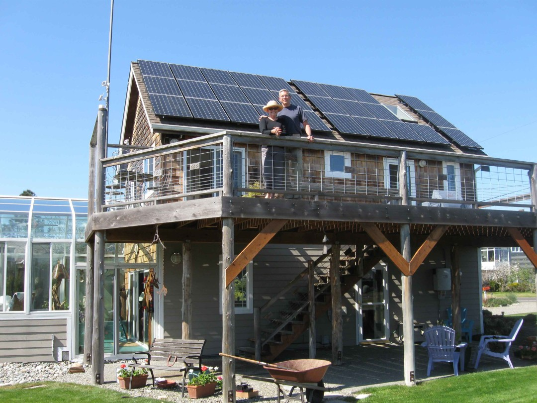 Anderson Residence, 5.46 KW, Sequim, 2009