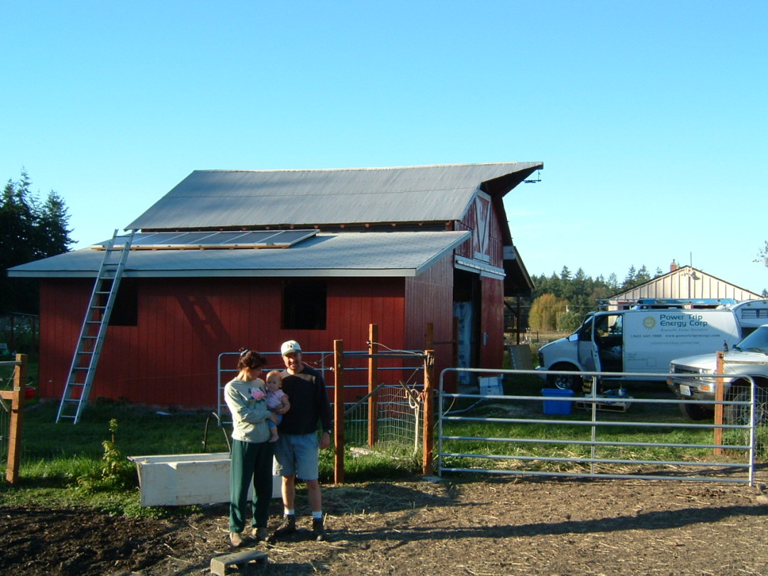 Wildberry Farm, 1 KW, Port Townsend, 2004