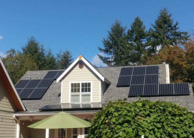Residence, 8.97kW , Poulsbo, 2016