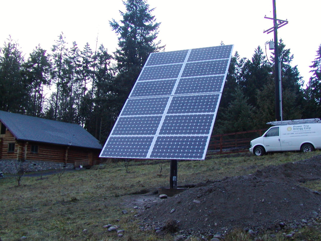 Sequim, 2.1 KW Pole Mount, 2006