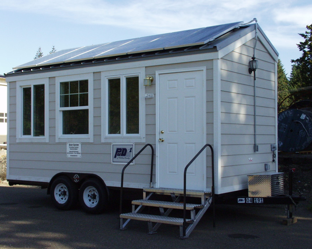 Clallam PUD House on Wheels, 1 KW, Sequim, 2005