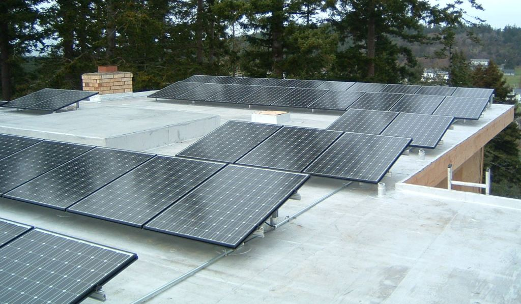 Coppenrath Residence, 11.6 KW, Port Townsend, 2008
