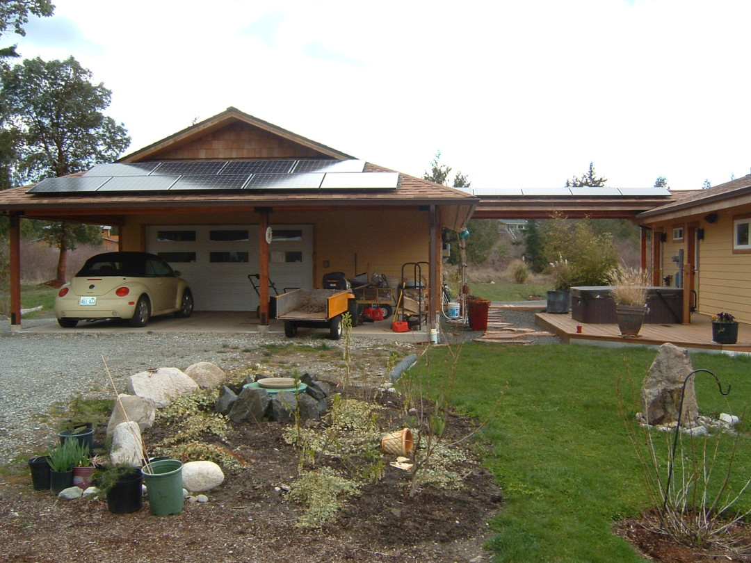 Crouse Residence, 2.8 KW, Port Townsend, 2007