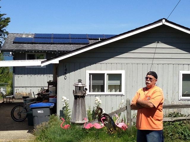 Sawitzki Residence, 2.34 KW, Nordland, 2012
