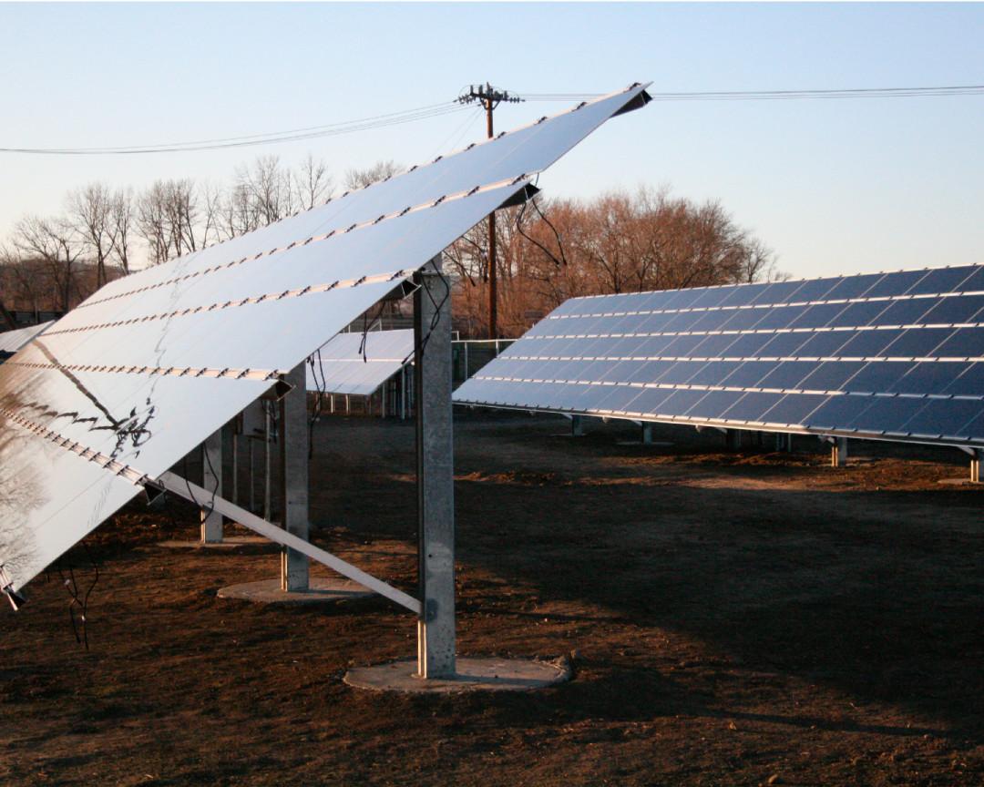 Community Solar Array, 13 KW, Ellensburg, 2009
