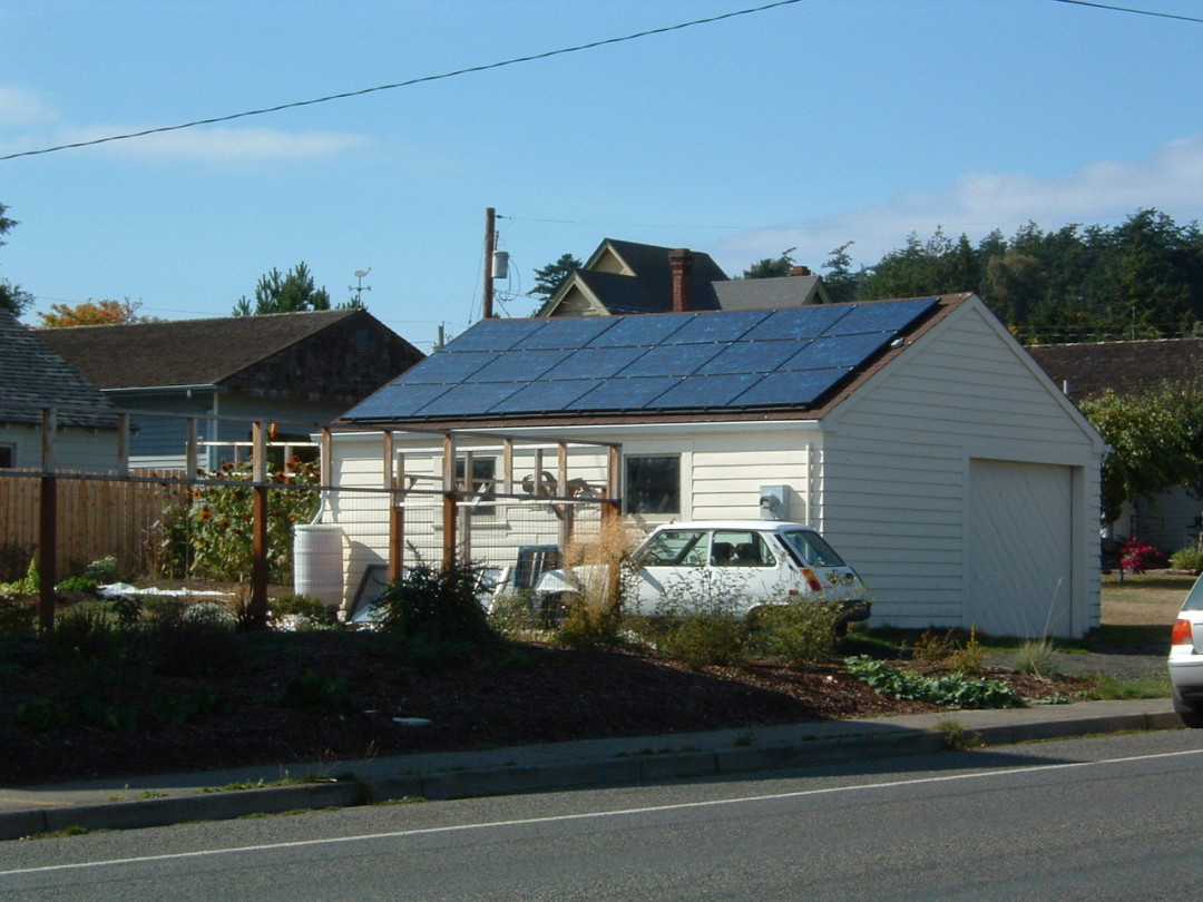 Fairbanks Residence, 2 KW, Port Townsend, 2005