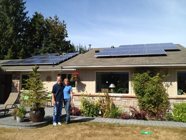 Fisher Residence, 6 KW, Port Angeles, 2012