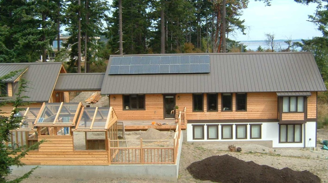 Glaviano-Termeer Residence, 4KW, Port Townsend, 2008