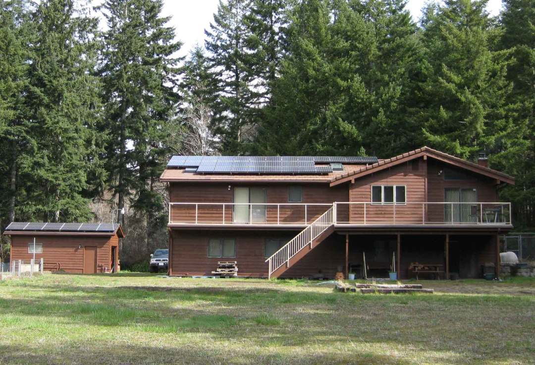 Goodwin Residence, 8.4 KW, Port Orchard, 2009