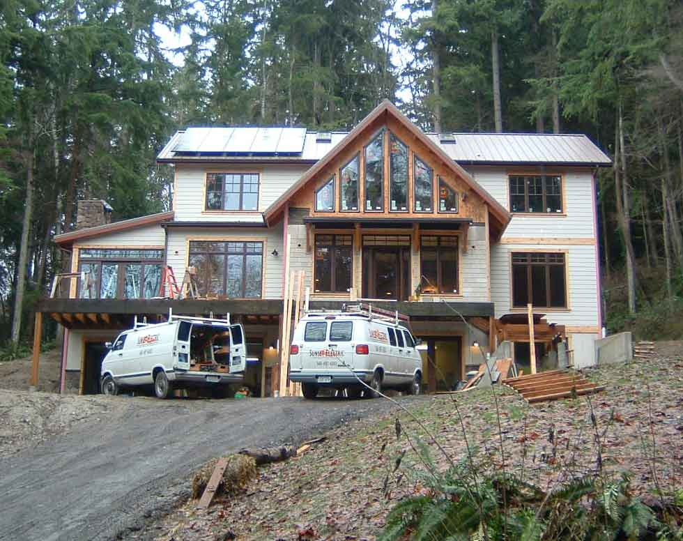 Haug Residence, 3 KW, Indianola, 2009