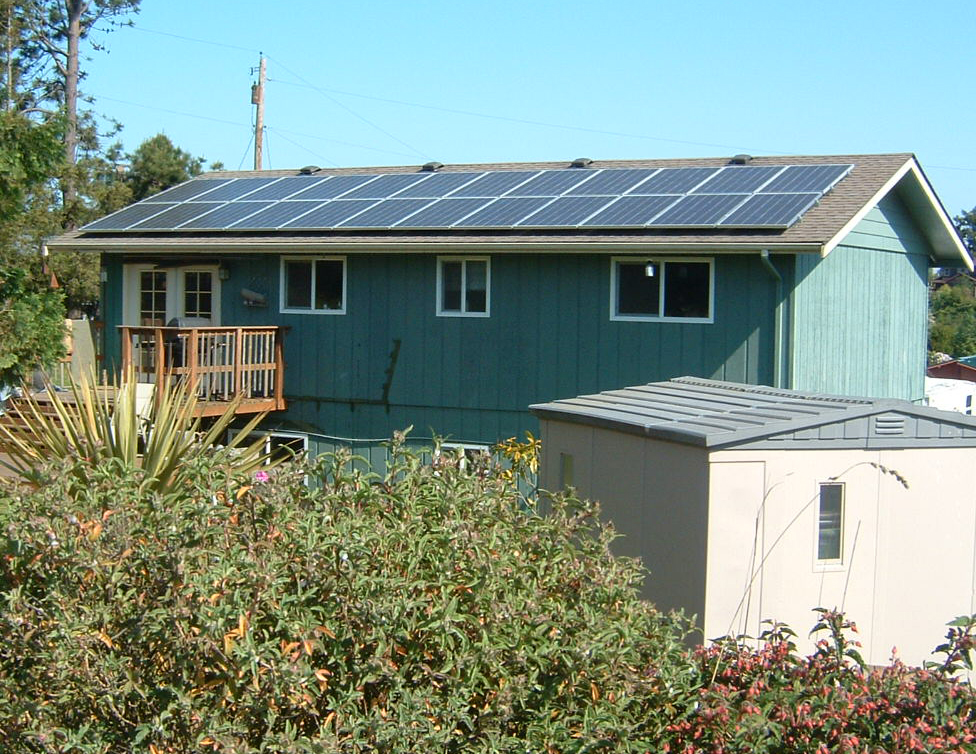 Holeman Residence, 4.32 KW, Port Townsend, 2007