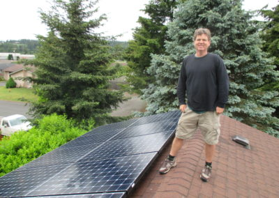 Murney Residence – 5.89 KW, Port Townsend, 2016
