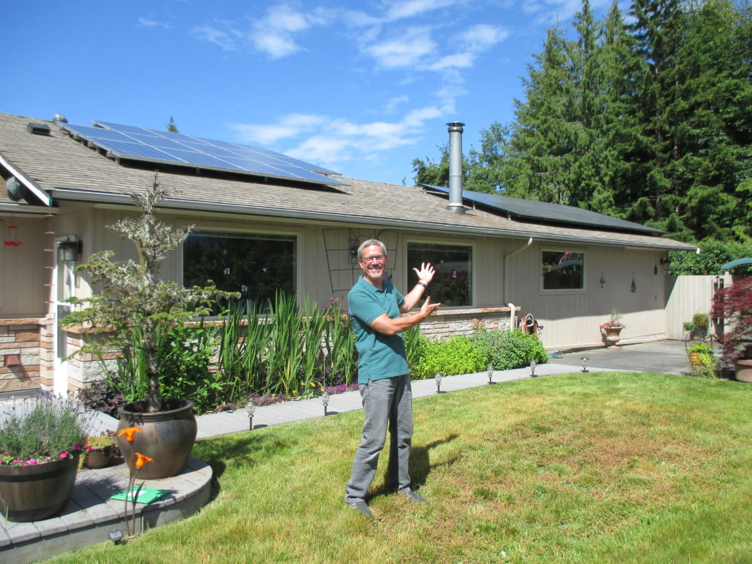 Fisher residence, 4.58 KW, Port Angeles, 2016