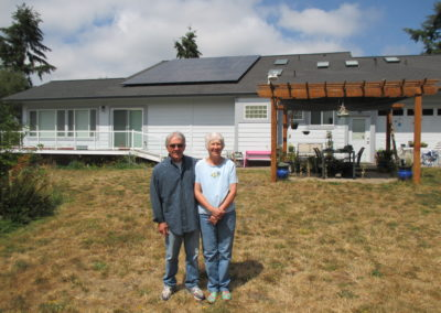 Ryan Residence, 9.81kW , Port Townsend, 2016