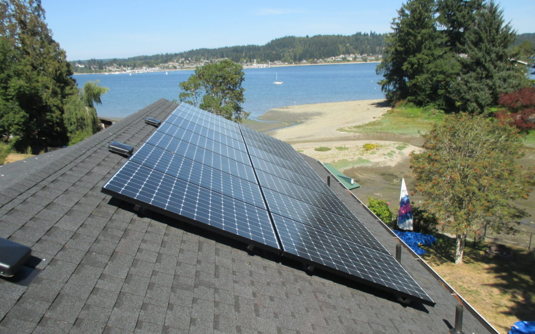 Residence, 5.23kw , Poulsbo, 2016
