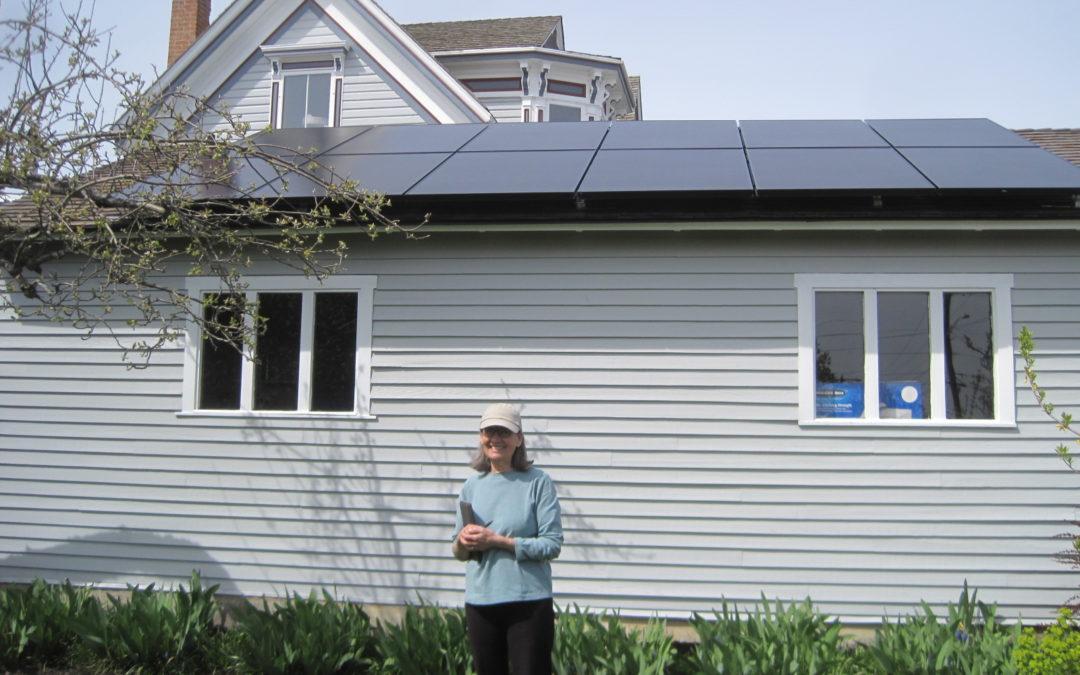 Residence, 6.7 KW SunPower 335-AC, Port Townsend, 2017