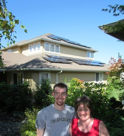 Derrenberger Residence, 6.27 KW, Port Ludlow, 2012
