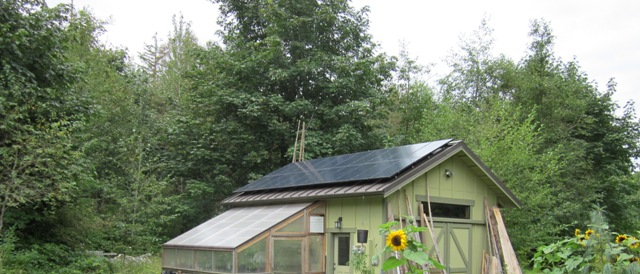 Iseminger Residence, 4.6 KW, Chimacum, 2012