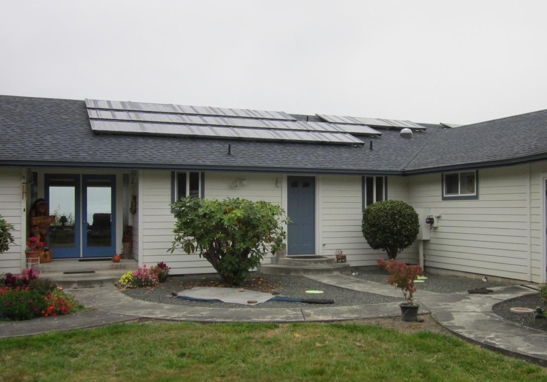 Residence, 5.07 KW, Port Angeles, 2012