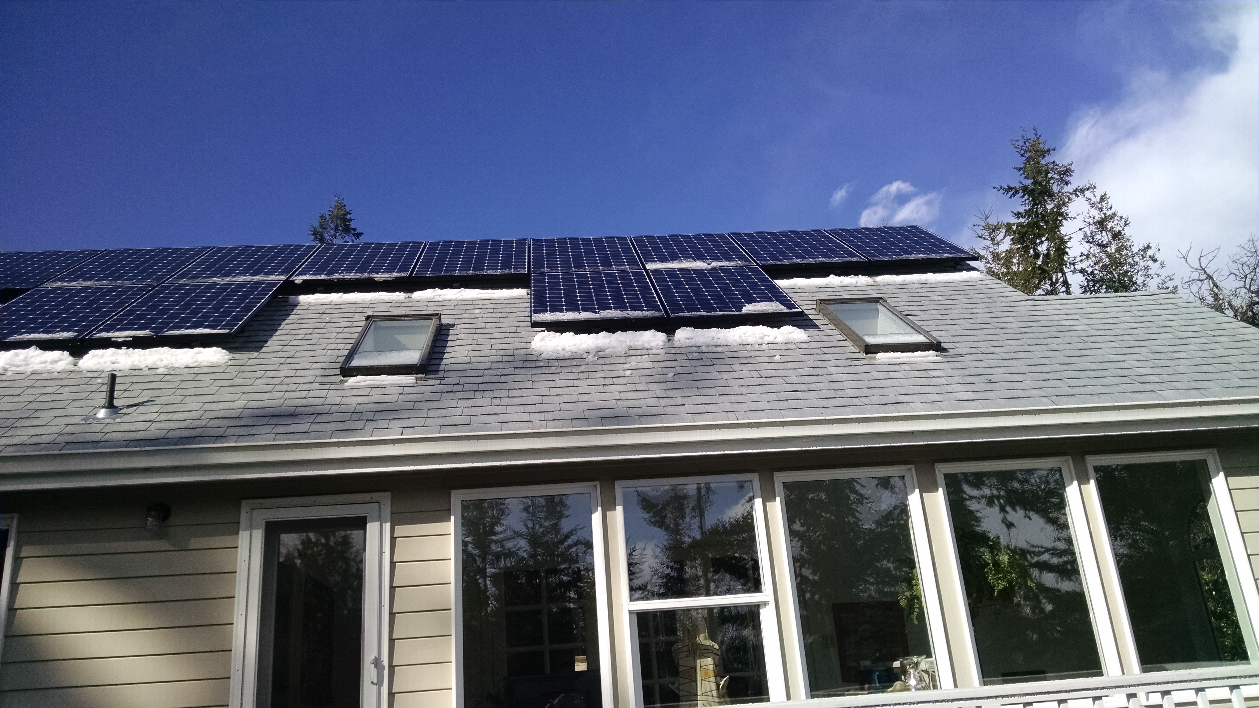 Residence, 7.85 KW, Port Townsend, 2017