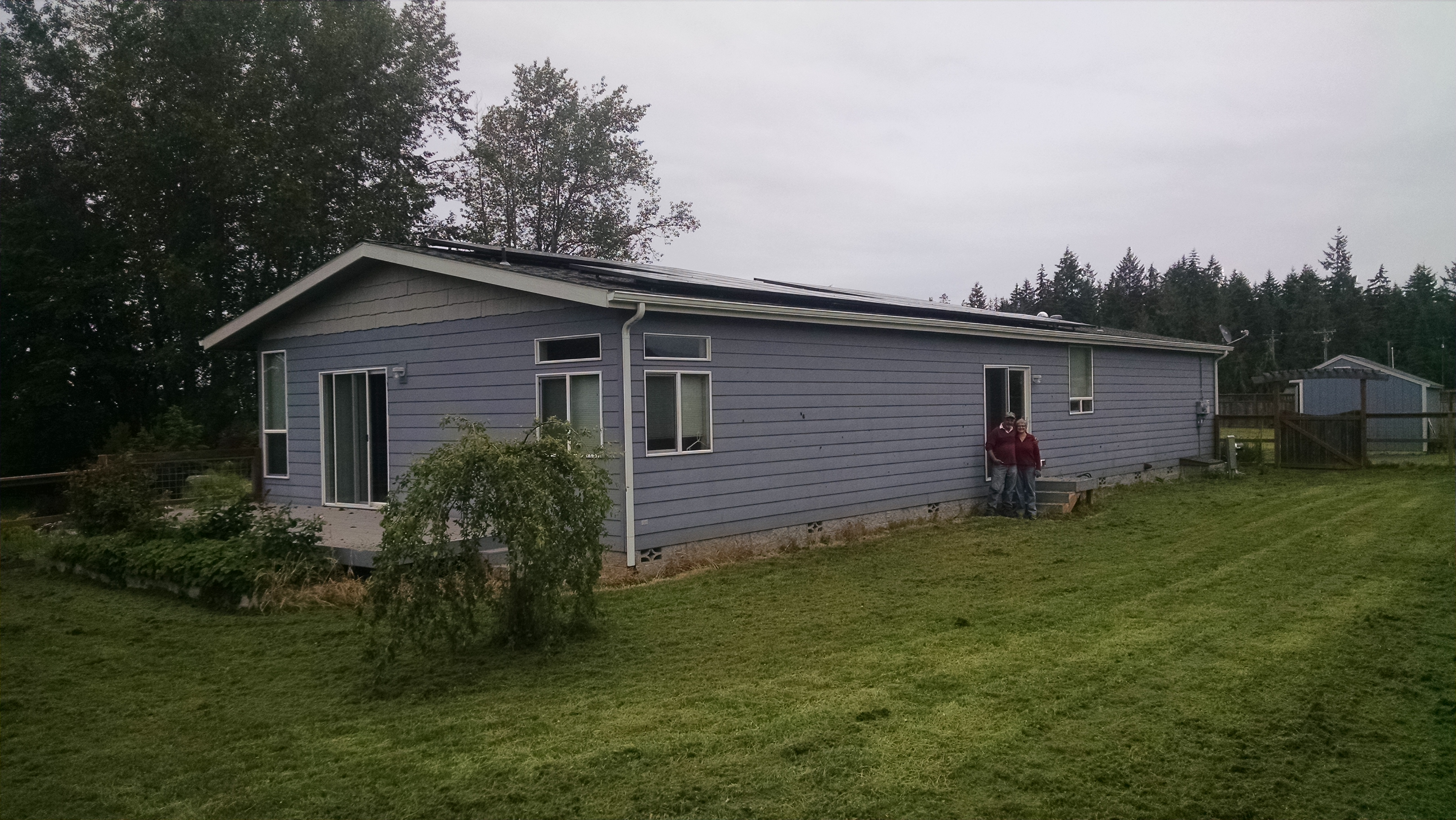 Residence, 9.66 KW, Sequim, 2017
