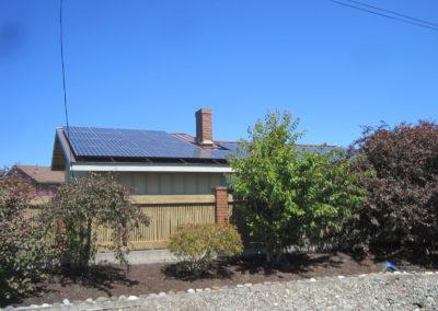Dodd Residence, 9.48 KW, Port Townsend, 2017