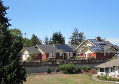 Residence, Port Angeles, 6 KW addition (18 KW SolarWorld PV), 2015
