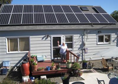 Nickolaus Residence, 6.3kw Solar World, Port Angeles, 2015