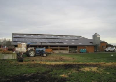 Dungeness Valley Creamery, 22.23kw Solar World, Sequim 2015