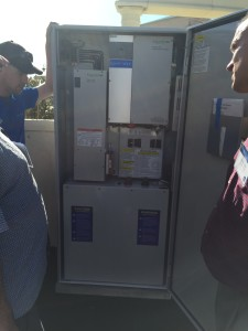 SunVerge cabinet open