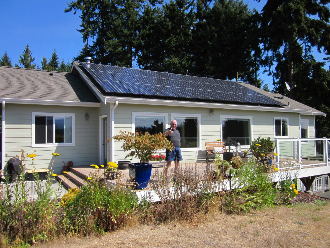Robards Residence, 9.81 KW, Sequim, 2014