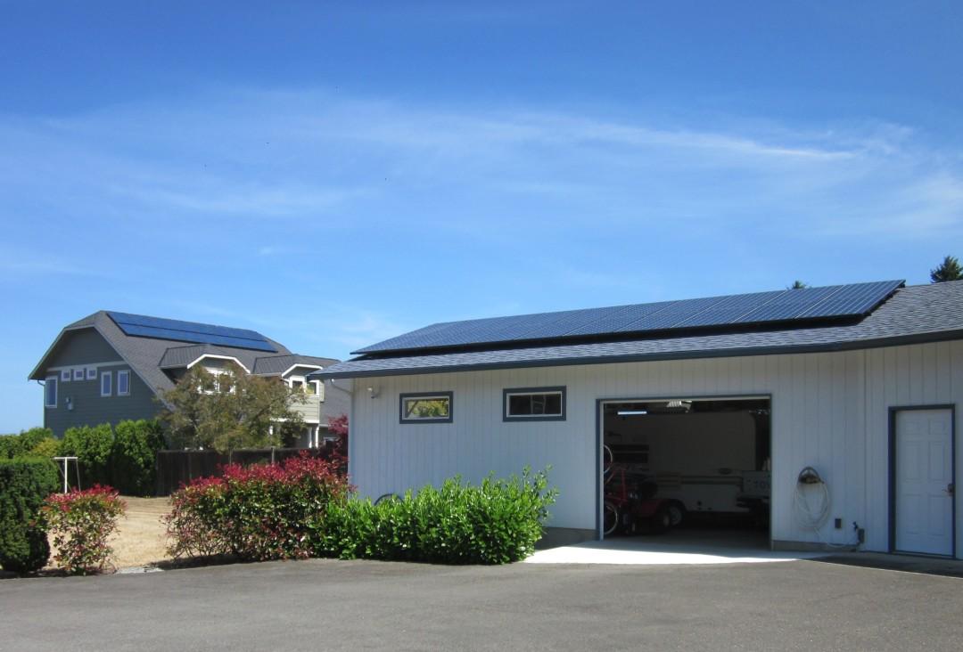 Howe Residence – Phase II, 6.54 KW, Port Angeles, 2014