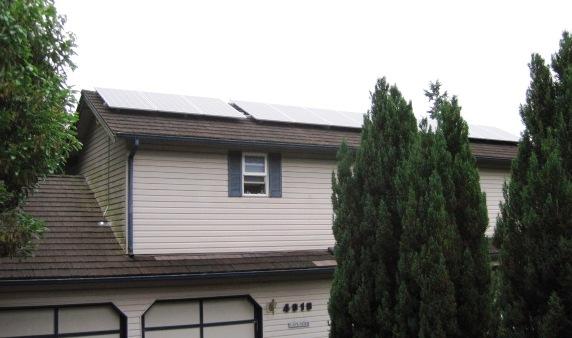 Residence, 3.24 KW, Bremerton, 2014