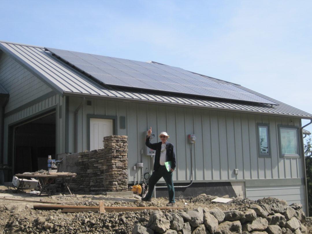 Residence, 9.81 KW, Hansville, 2016