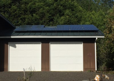 Residence, 3.6kw SunPower, Grapeview, 2015