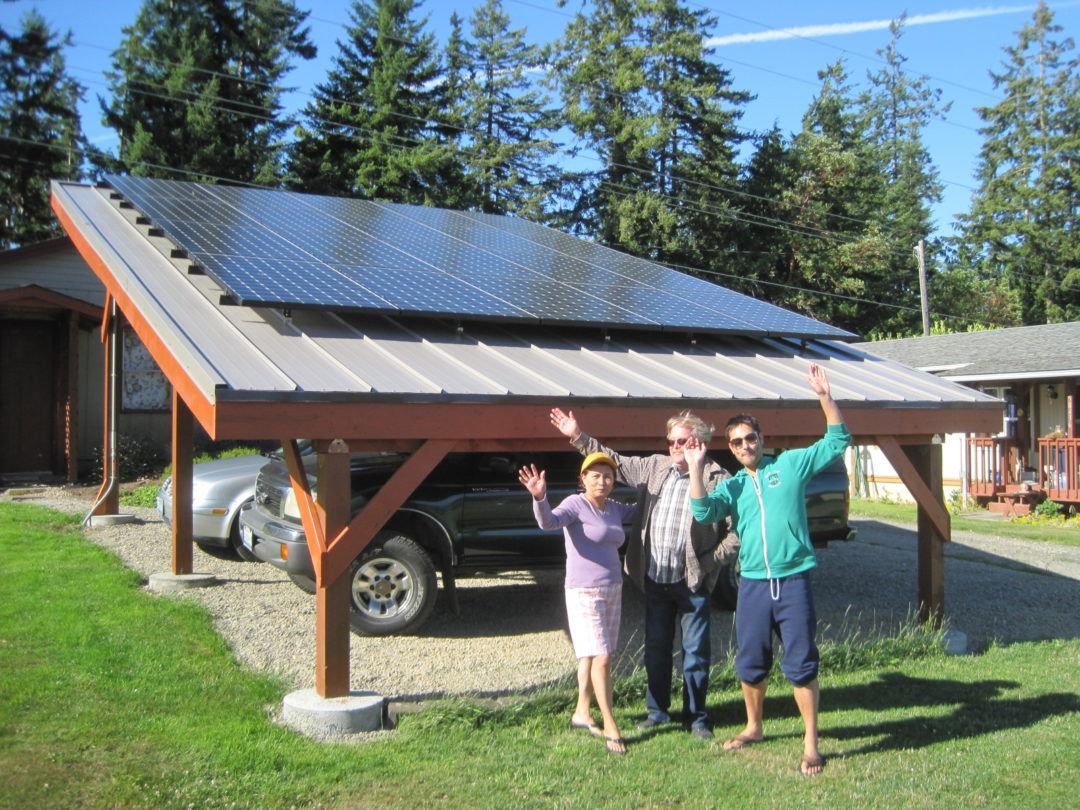 Morgan Residence, 6.9kW , Port Angeles, 2016