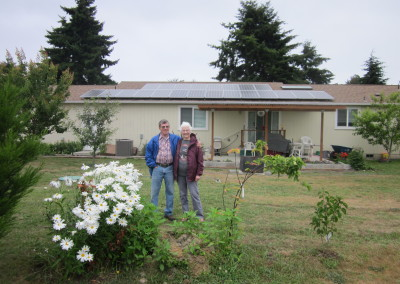 Ferron Residence, 6.93 KW SolarWorld, Sequim, 2015