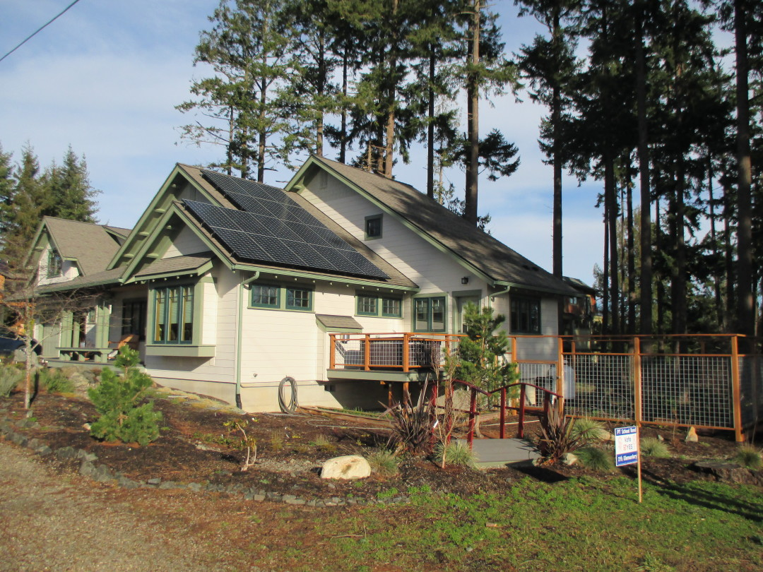 Residence, 5.23kw SunPower, Port Townsend 2015