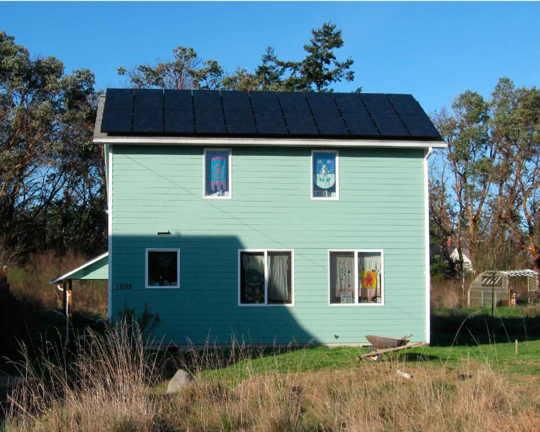 Keith Residence, 4.95 KW, Port Townsend, 2010