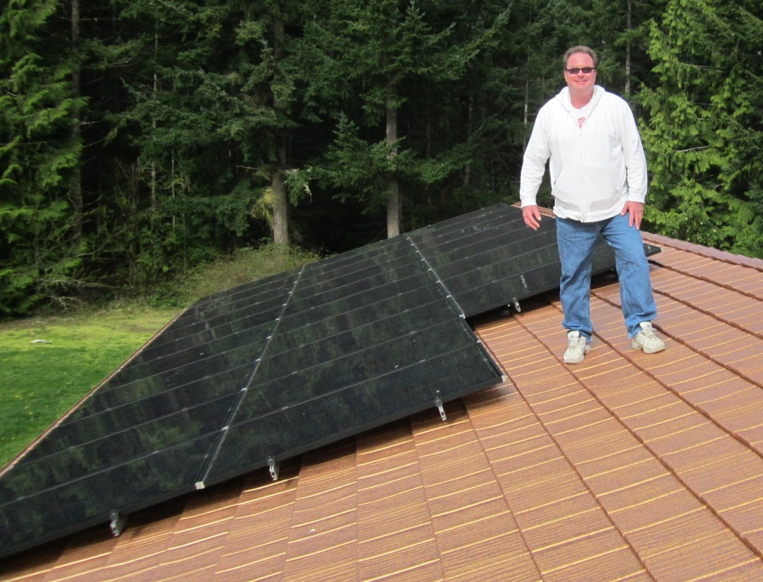 Maxwell Residence, 7 KW, Port Townsend, 2013