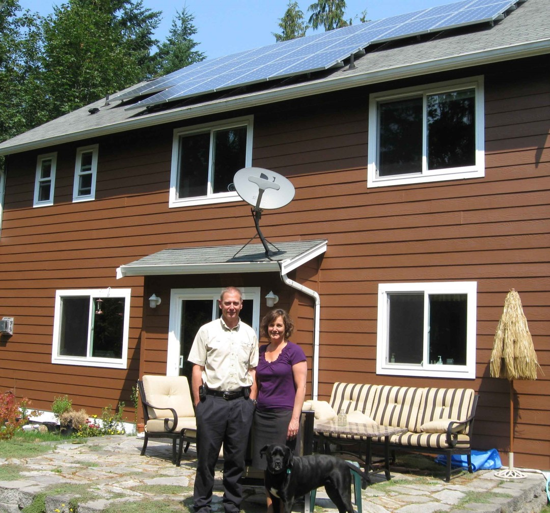 McClain Residence, 4.7 KW, Sequim, 2010