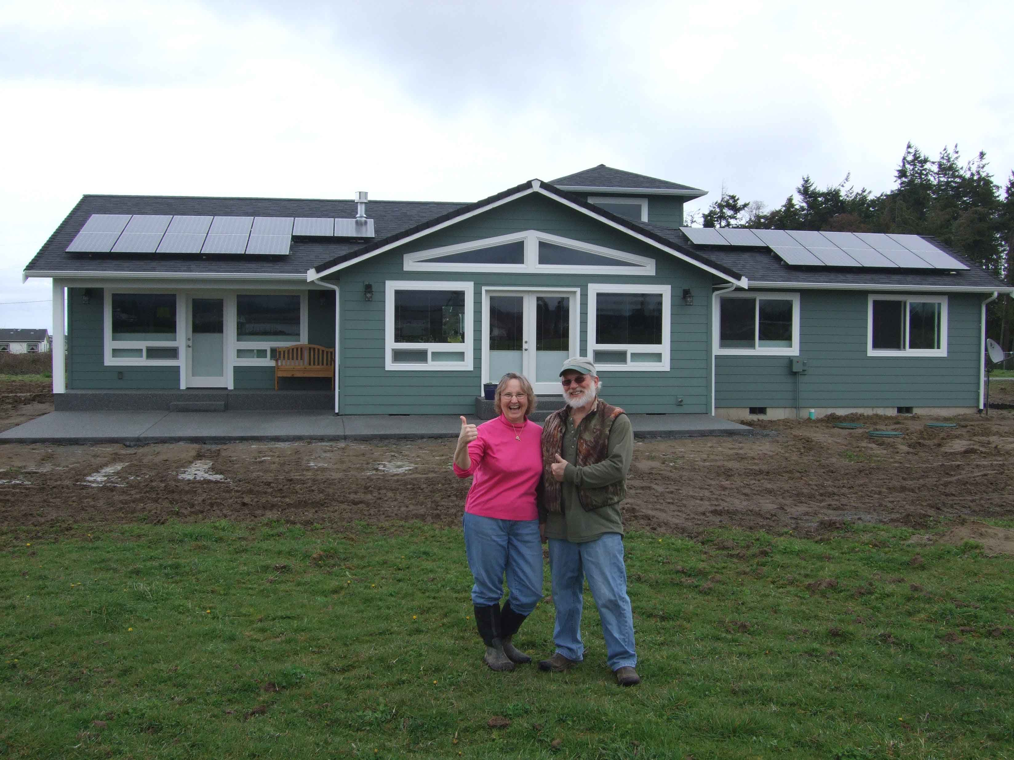 McCullough Residence, 4.68 KW, Sequim, 2010