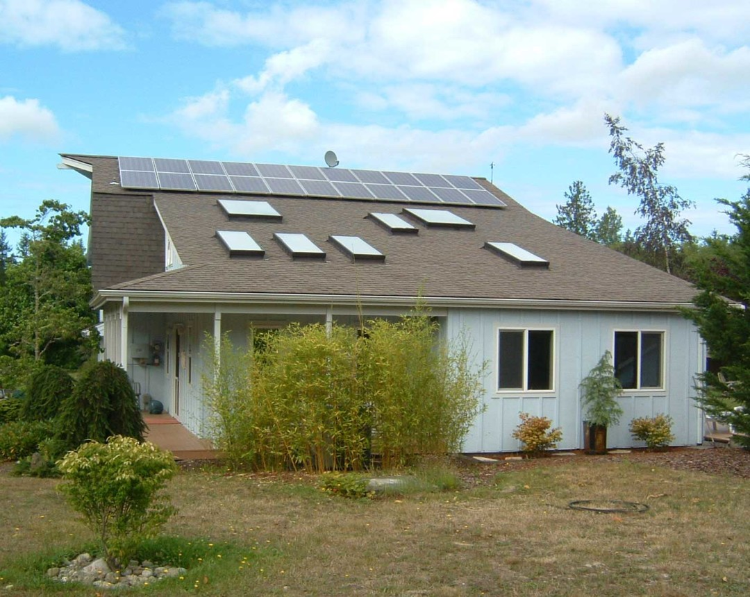 McElroy-Watts Residence, 4.18 KW, Sequim, 2008