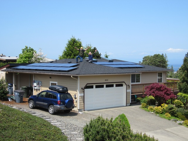 McMahon Residence- Phase II, 4.61 KW, Port Angeles, WA
