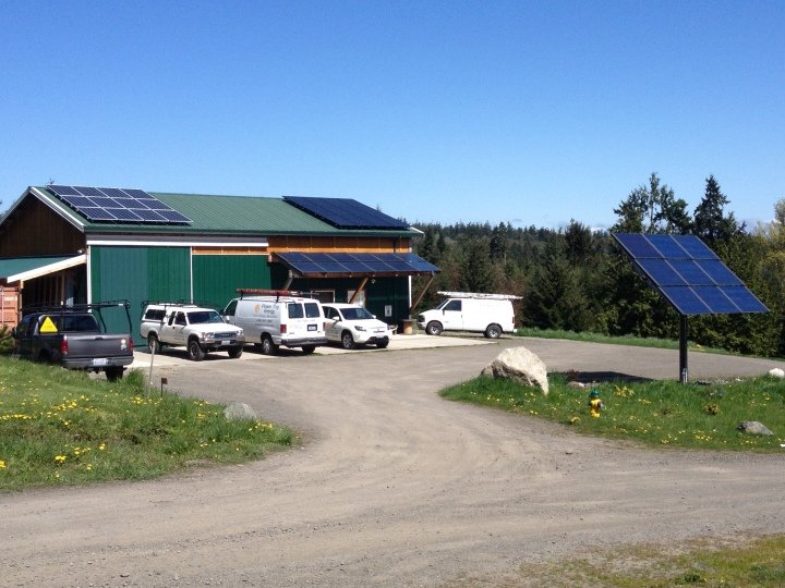 Power Trip Energy Shop – Phase III, 5.81 KW, Port Townsend, 2014