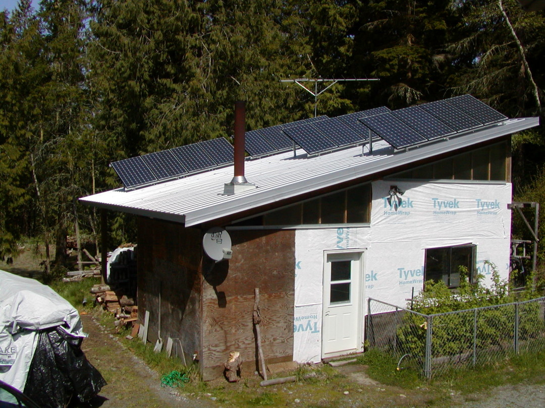 Taylor Residence, 3 KW, Port Townsend, 2005