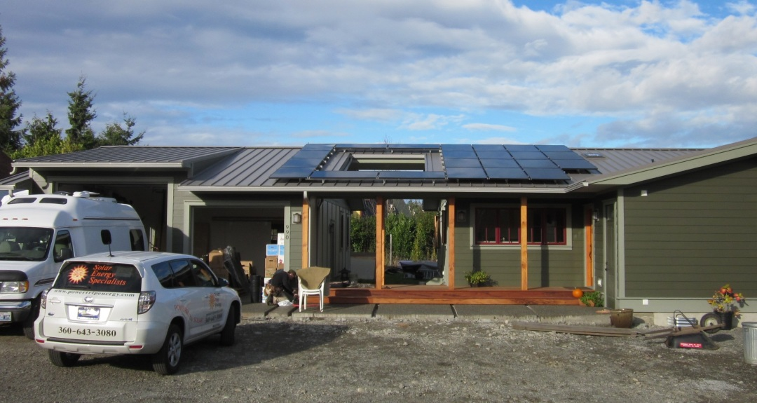 Residence, 5.87 KW, Port Townsend, 2013