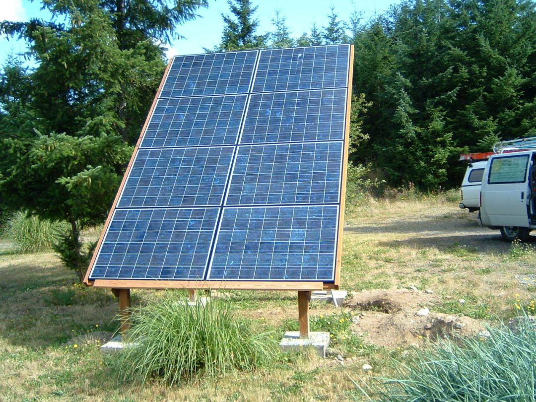 Ray Residence, 1.3 KW, Port Townsend, 2005